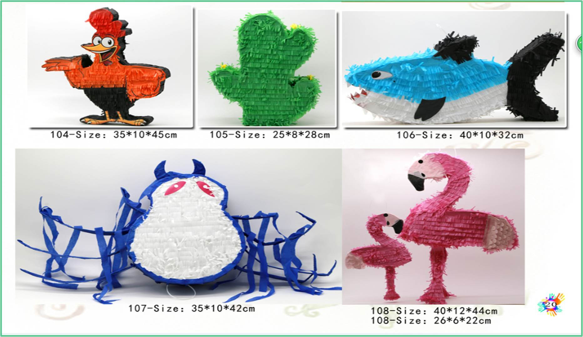 Birthday wedding toy for outdoor party decoration pinata